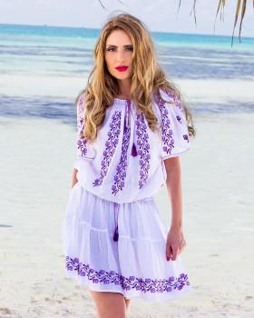 ROCHIE BRODATA MANUAL - Motivul Violete