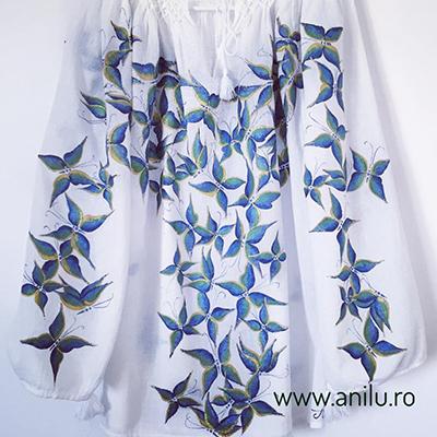 Ie pictata Fluturi de Smarald